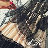 Женское праздничное платье с французским кружевом, фото 3
