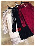 Женское кружевное платье (3 цвета), фото 4