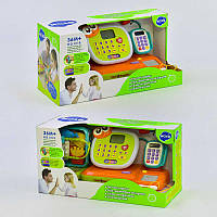 Кассовый аппарат 3118 (4) английская озвучка, музыка, звук, подсветка, микрофон и калькулятор, в коробке