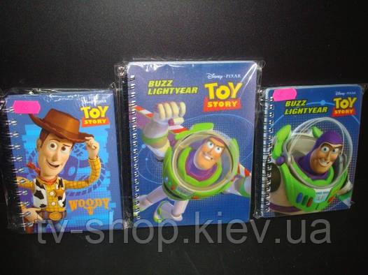 Блокнот Toy story (3 вида)