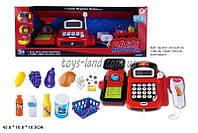 Кассовый аппарат 8088B (16шт/2) свет,звук,весы,кас/лента,деньги,скан,корз.прод, в кор.43*16*17см