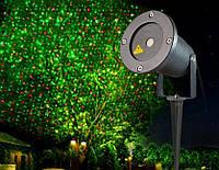 Уличный декоративный лазерный проектор laser light поворотная ножка Outdoor Snow flake light