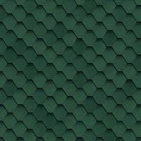 Битумная черепица SHINGLAS Классик Кадриль Соната(зеленый)