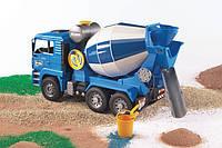 Игрушечная машина Бетоновоз MAN TGA синий М1:16 BRUDER