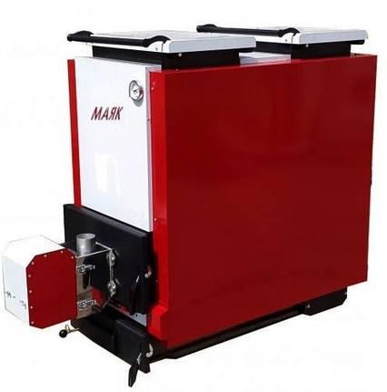 Шахтный котел длительного горения Маяк КТШ ECO LONG BURNING 20 кВт, фото 2