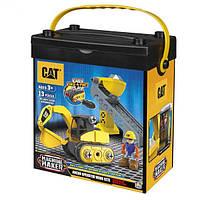 Игровой набор-конструктор Machine Maker экскаватор и конвейер-подъемник CAT, Toy State (80913)
