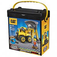 Игровой набор-конструктор Machine Maker самосвал и башня-погрузчик CAT, Toy State (80911)