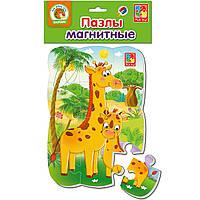 Магнітний пазл «Жирафи», Vladi Toys