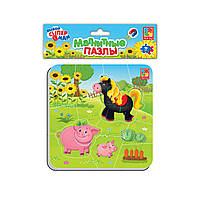 Магнітні пазли «Ферма», Vladi Toys