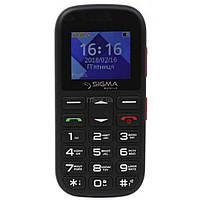 Мобильный телефон Sigma Comfort 50 Mini5 Black Red (4827798337516)