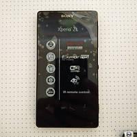 Дисплей в рамке Sony Xperia ZL C6503 новый в сборе с шлейфами с динамиками
