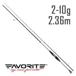 Спиннинг Favorite Impulse TZ IMPTZ792L-T 2.36m 2-10g Fast