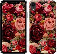 """Чехол на iPhone XR Цветущие розы """"2701c-1560-1072"""""""