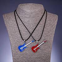Парный кулон Дружбы Гитары, длина 45-48см