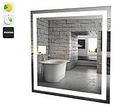 Зеркало Альфа 80 см с LED подсветкой