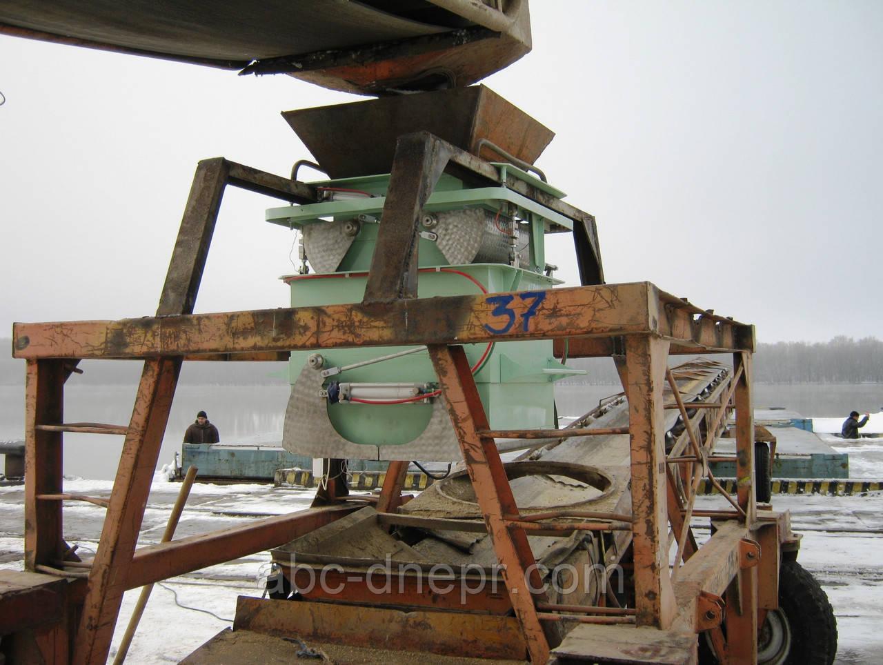 Дозаторы для погрузки зерна в баржи ВБ-250