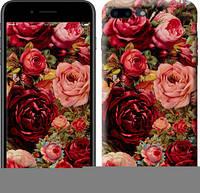 "Чехол на iPhone 8 Plus Цветущие розы ""2701c-1032-1072"""