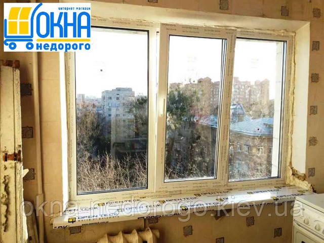 Остекление квартиры окнами Rehau