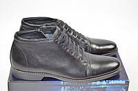 Ботинки мужские зимние Vito Rossi 121-11 чёрные кожа, фото 1