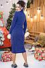 Повседневное теплое платье Мария, фото 4