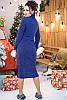 Повседневное теплое платье Мария 48-60рр, фото 4