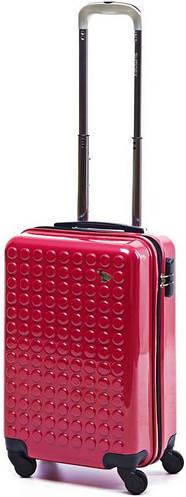 Малый пластиковый чемодан на 4-х колесах 35 л. Sumdex (Самдекс) SWR-726CP красный