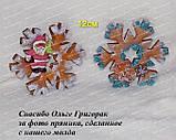 ЭКСКЛЮЗИВ! Силиконовый молд для выпечки пряника Снежинка №2 12 см, фото 2