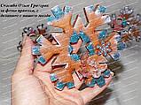 ЭКСКЛЮЗИВ! Силиконовый молд для выпечки пряника Снежинка №2 12 см, фото 3