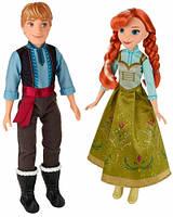 Анна и Кристоф, набор кукол, Холодное сердце, Disney Frozen Hasbro (B5168)