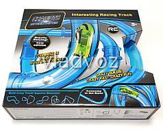 Супер гоночный трек в тубе трубе автотрек игрушка Сhariots speed pipes