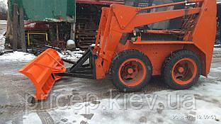 Снегоуборочный ковш для погрузчика, квадроцикла, трактора.