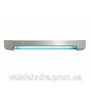 Облучатель бактерицидный бытовой OBB 15S OZONE FREE настенно-потолочный безозоновый Польша 9000ч, фото 2