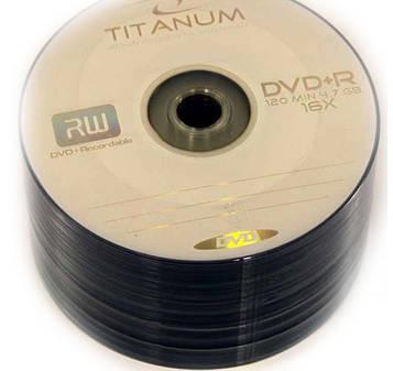 Диск DVD-R(+R) TITANUM  (50шт)