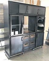 Офисный шкаф стиль индастриал, фото 1