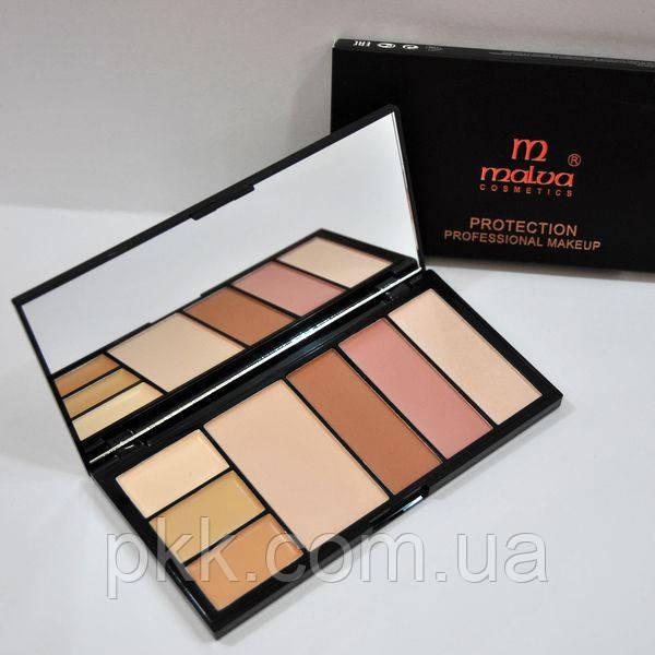 Набор корректоров для лица Malva Cosmetics Protection Palette М470