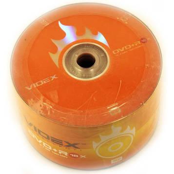 Диск DVD-R(+R) Videx (50шт)