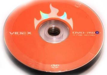 Диск DVD-RW(+RW) Videx (10шт)