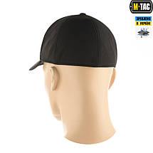 Бейсболка зимняя из ткани Soft Shell чёрная, фото 3