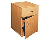 Тумбочка с дверцей и ящиком (0824)