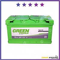 Аккумулятор Green Power 75 А.З.Г. со стандартными клеммами | L, EN680 (Азия)