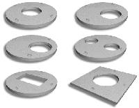 Плита перекриття, кришка 3 ПП20-2 з 2-ма отворами