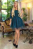 Вечернее платье с пышной юбкой, размеры 42-46