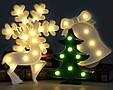 Новогодняя скульптура 3D-светодиод , фото 4