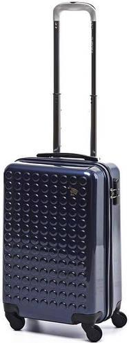 Пластиковый малый чемодан на 4-х колесах 35 л. Sumdex (Самдекс) SWR-726NB синий