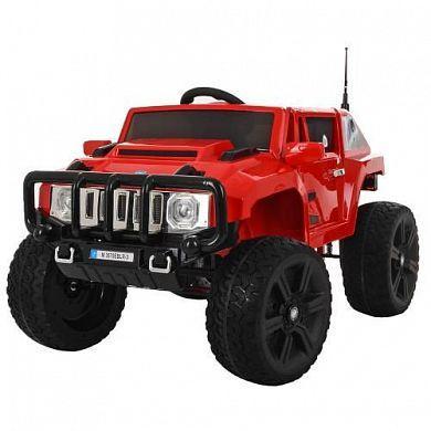 Дитячий електромобіль Джип Hummer, 4 мотора по 45W, Шкіра, EVA гума, Амортизатори, дитячий електромобіль