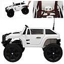 Дитячий електромобіль Джип Hummer, 4 мотора по 45W, Шкіра, EVA гума, Амортизатори, дитячий електромобіль, фото 6
