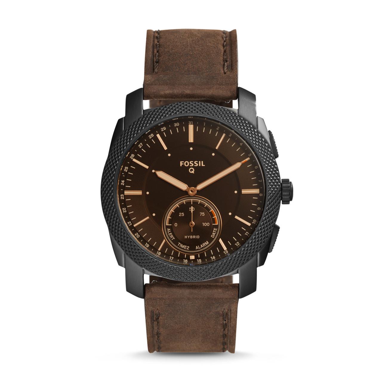 Fossil Hybrid Smartwatch Machine Dark FTW1163