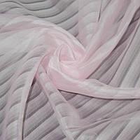 Вуаль рожева в смужку ш.275 (30137.003)