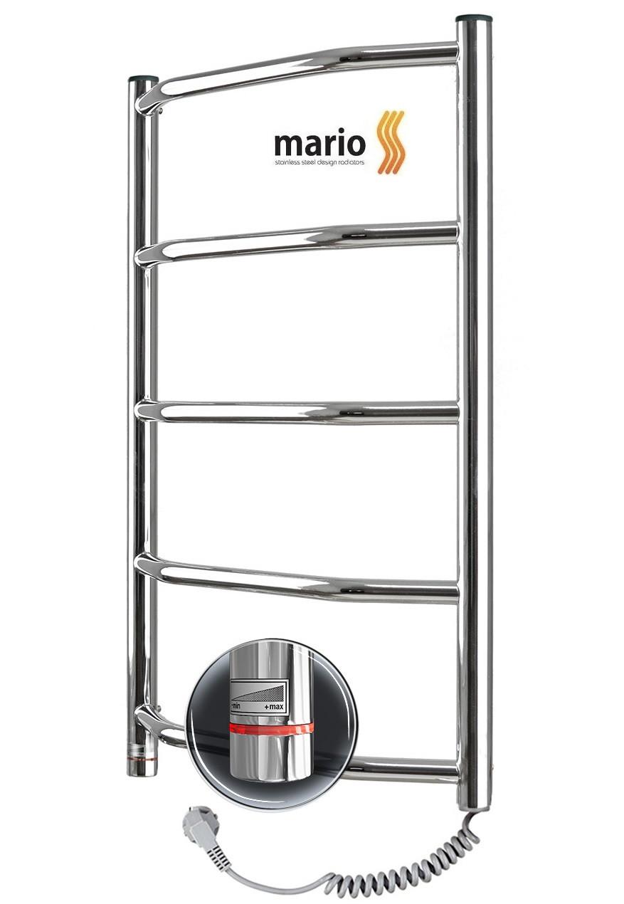 Полотенцесушитель электрический MARIO Трапеция HP-I 650x430