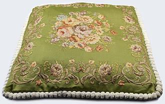Наволочка для подушки декоративная 52х52 Праздничная Гобелен